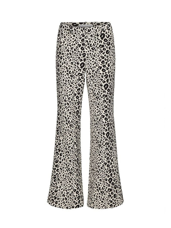 Fabienne Chapot Puck Trouser Black/Off-white Lynx