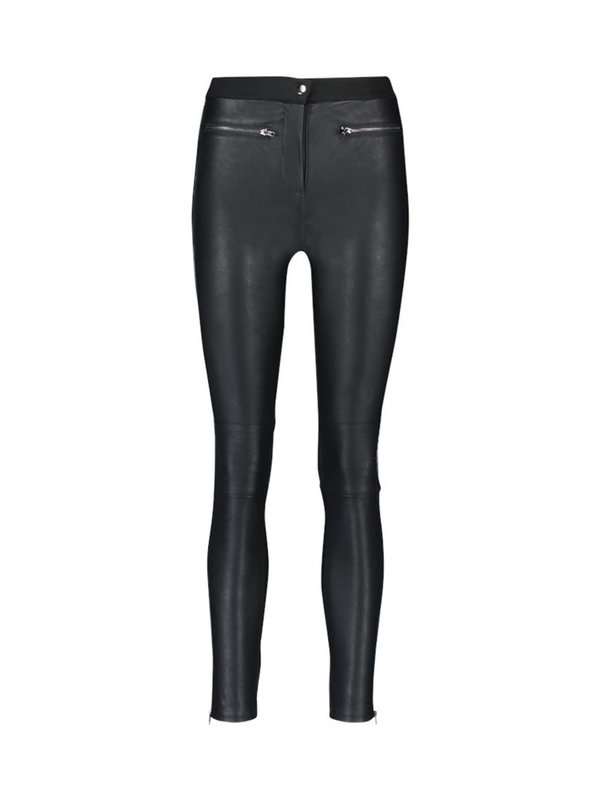 Aaiko Aaiko Persy Pants Leather Black