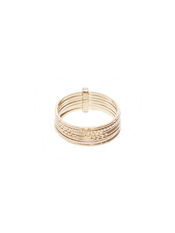 Bobby Rose Rita Ring Gold