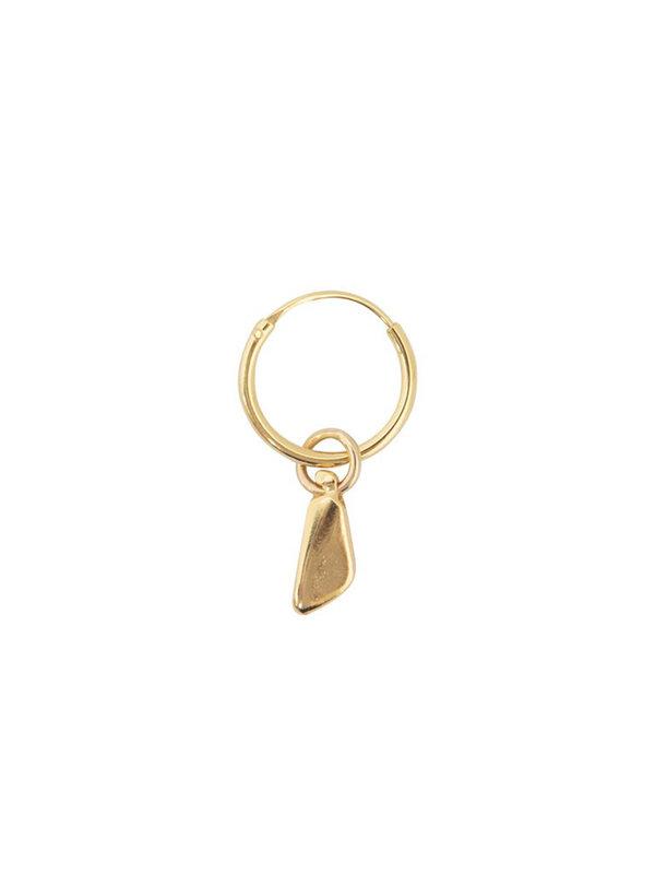 Bobby Rose Bobby Rose Earring Chunk Hoops Gold