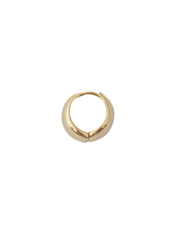 Bobby Rose Bobby Rose Earring Medium Hoop Gold