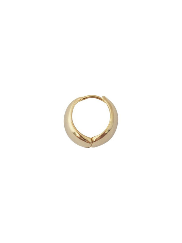 Bobby Rose Earring Medium Hoop Gold