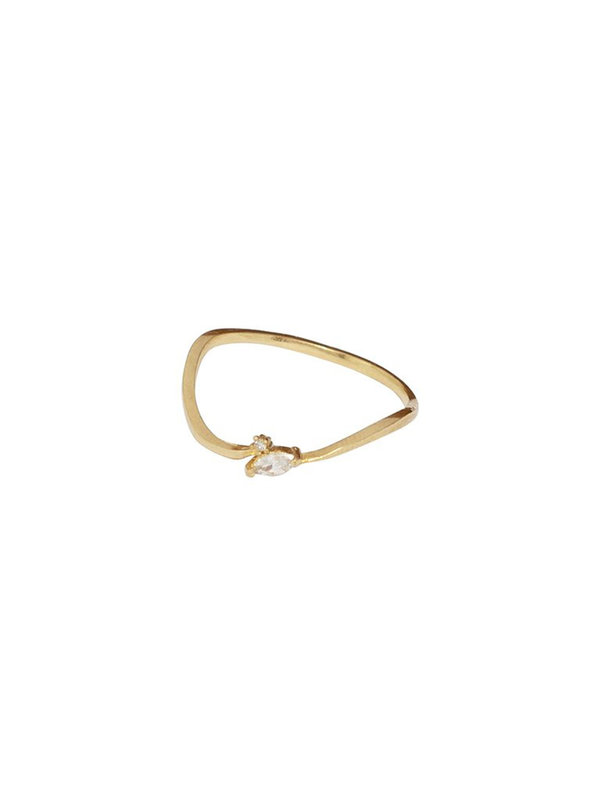 Bobby Rose Ring Stable Gold