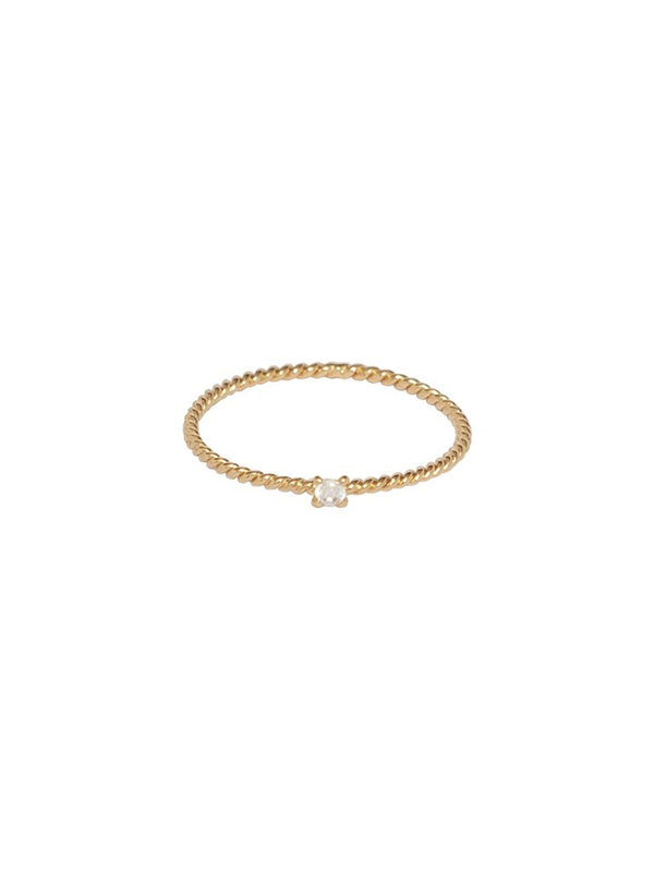 Bobby Rose Ring Pure Gold