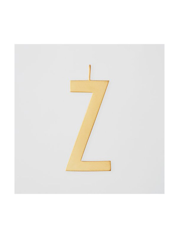 Design Letters Archetype Charm 30mm Gold Z