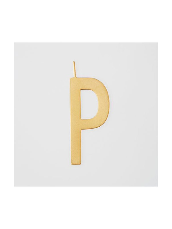 Design Letters Archetype Charm 30mm Gold P