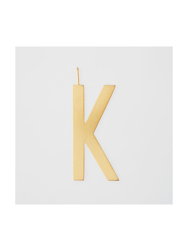 Design Letters Archetype Charm 30mm Gold K