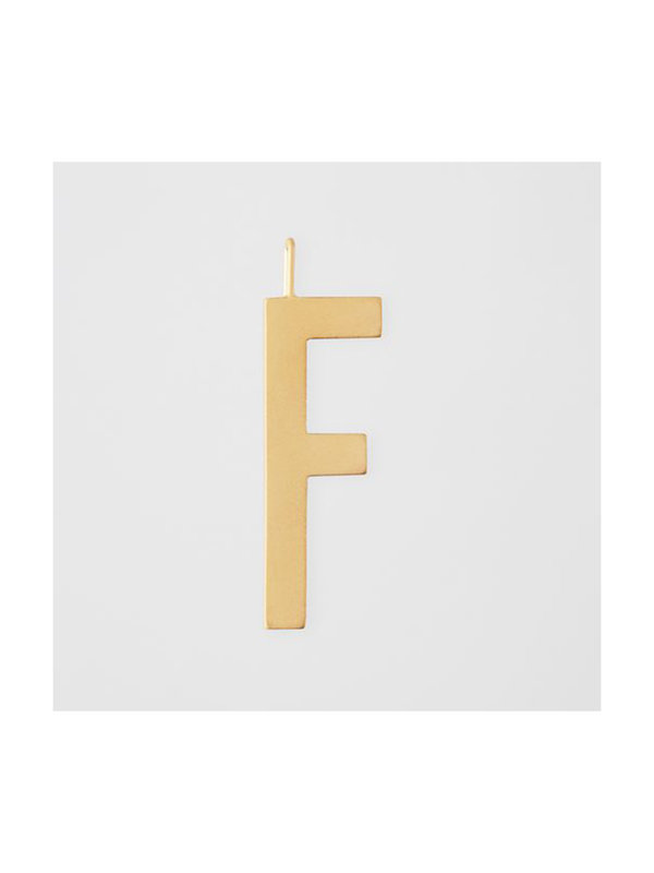 Design Letters Archetype Charm 30mm Gold F