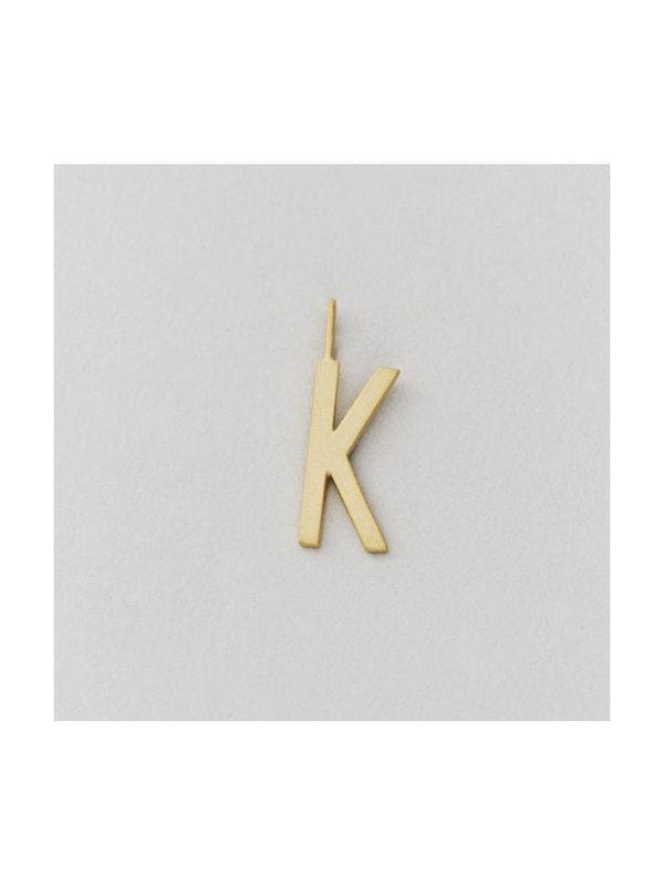 Design Letters Archetype Charm 16 mm Gold K