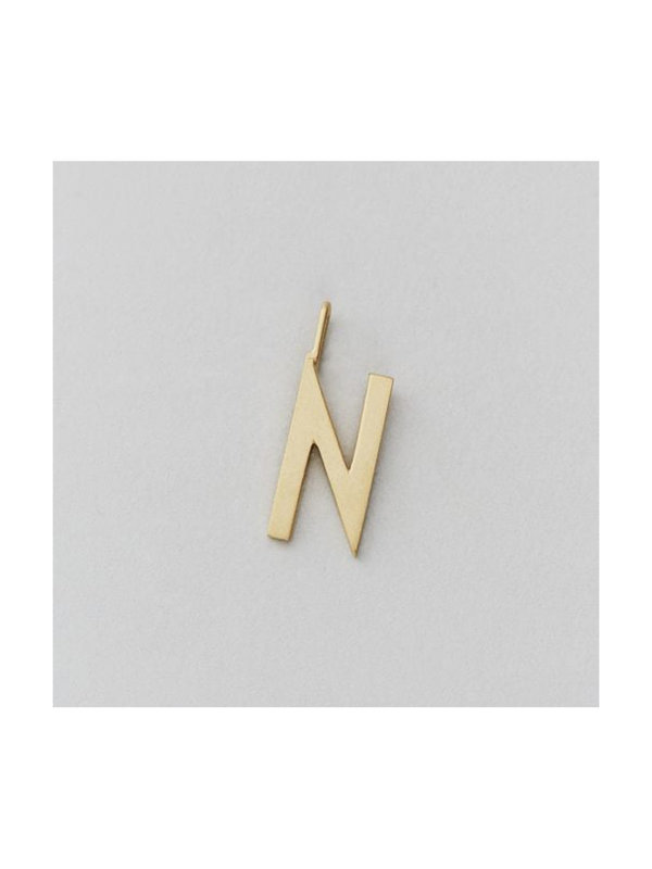 Design Letters Archetype Charm 16 mm Gold N