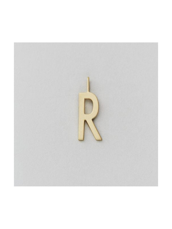 Design Letters Archetype Charm 16 mm Gold R
