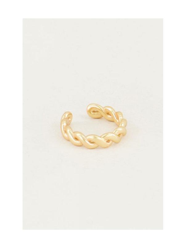 My Jewellery Ear Cuff Gevlochten Goud