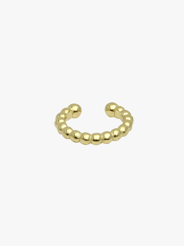 Wildthings Bubble Ear Cuff Gold