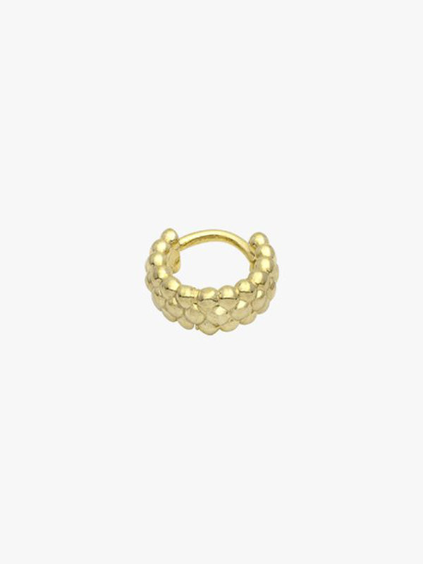 Wildthings Bubble Hoop Earring Gold