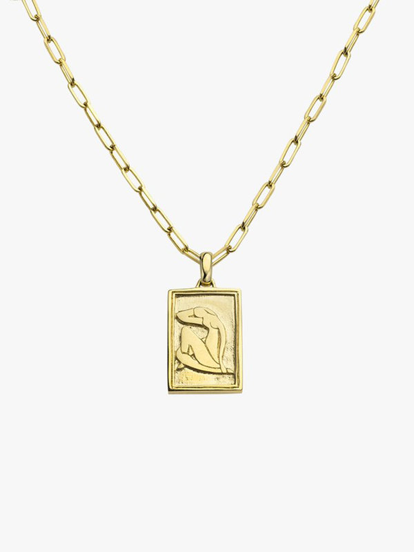Wildthings Matisse Woman Pendant Gold