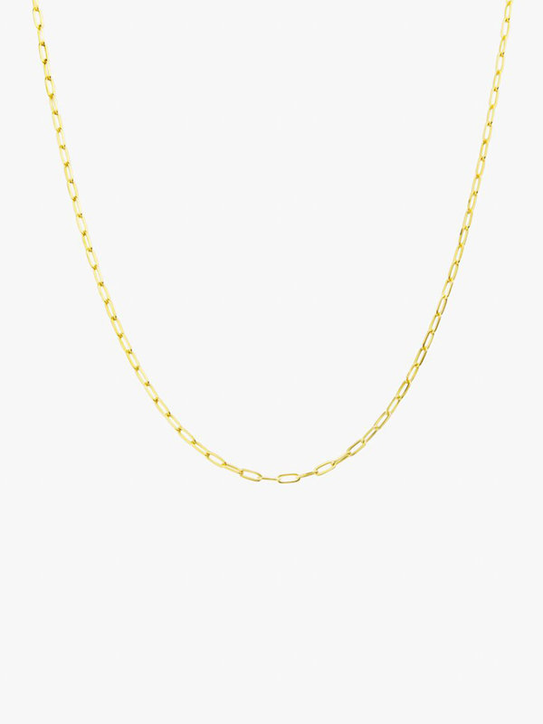 Wildthings Medium Round Necklace Gold
