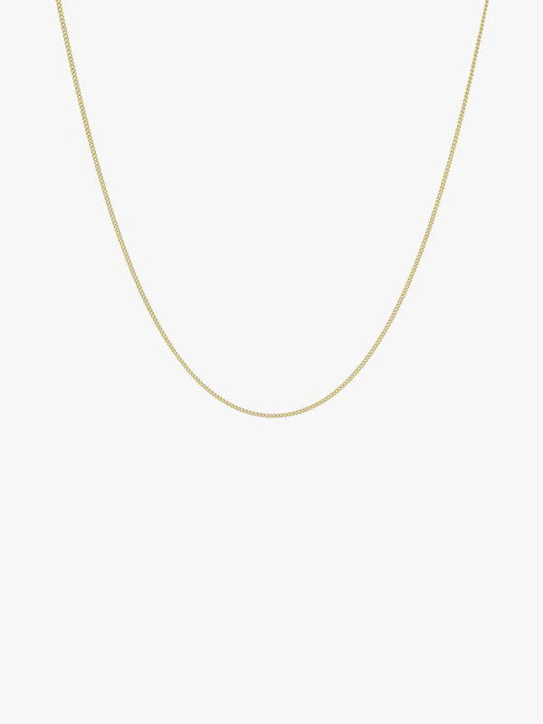 Wildthings Curb Chain Necklace Gold