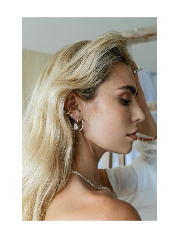 Wildthings Wild Classic Earring Silver Small