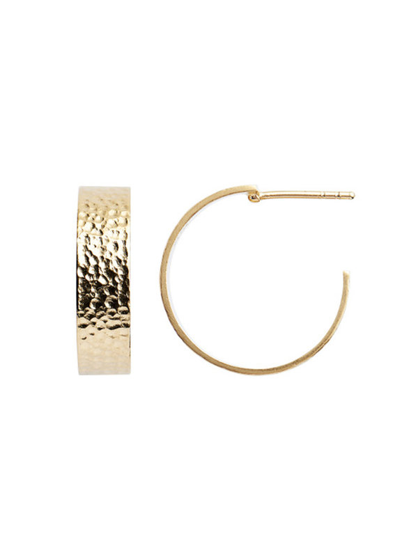 Stine A Big La Mer Creol Earring Gold