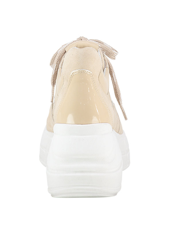 Aaiko Dark Oyster Sneakers Milano Sue