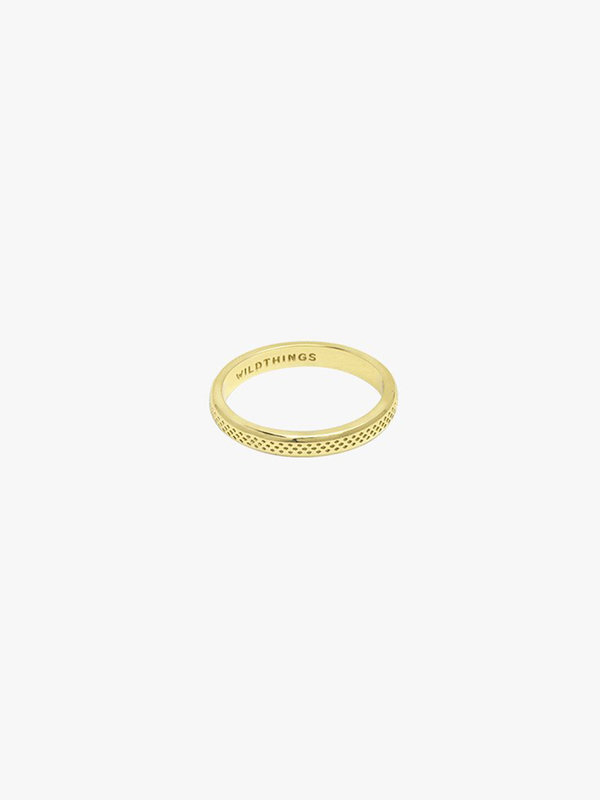 Wildthings Dotted Ring Gold