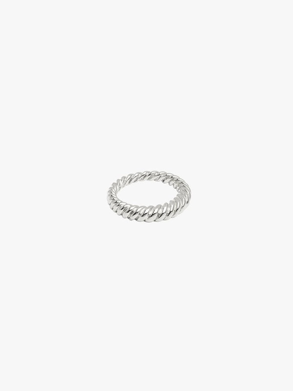 Wildthings Twisted Pinky Ring Silver