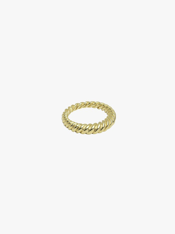 Wildthings Twisted Pinky Ring Gold