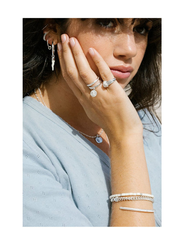 Wildthings Dotted Ring Silver