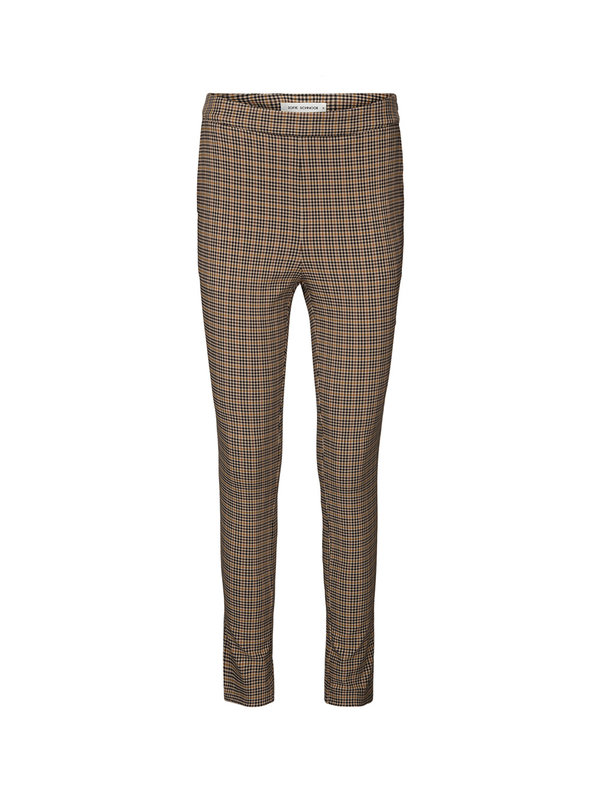 Sofie Schnoor Rebecca Stretch Pants Brown Check