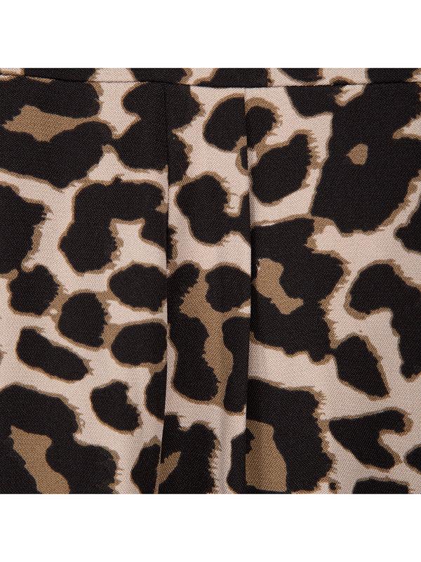 Sofie Schnoor Shirt Aleksandrine Brown Leopard