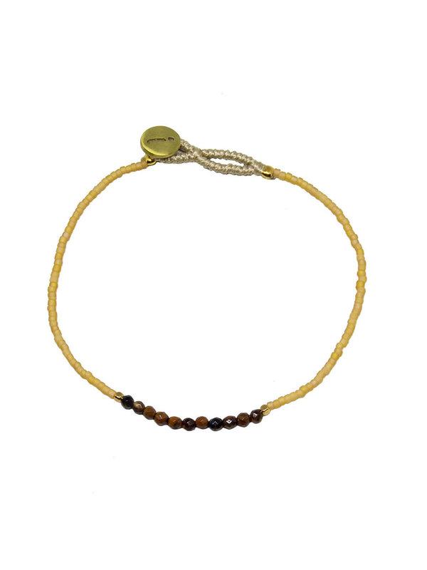 Ibu Jewels Bracelet Lulu Beige
