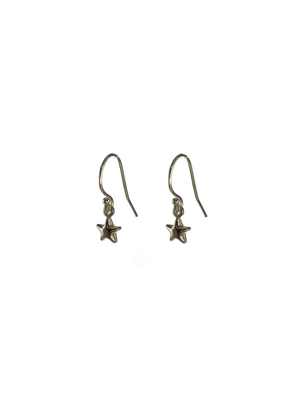 Blinckstar Earring Hook Mini Star Silver