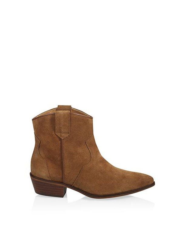 DW\\RS El Paso Boots Suède Congac