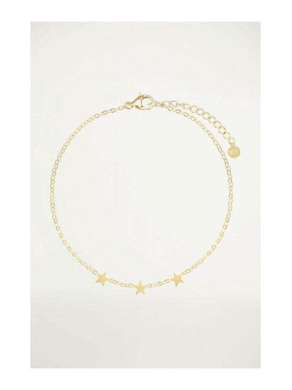 My Jewellery Armband 3 Sterren Goud