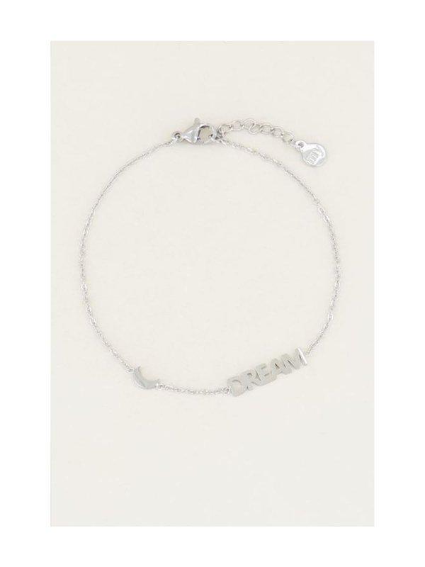 My Jewellery ArmbandMet Dream En Maantje Zilver