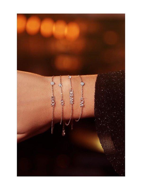 My Jewellery Armband Met Dream En Maantje Zilver