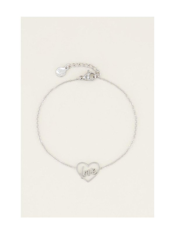My Jewellery Moments Bracelet Love Zilver
