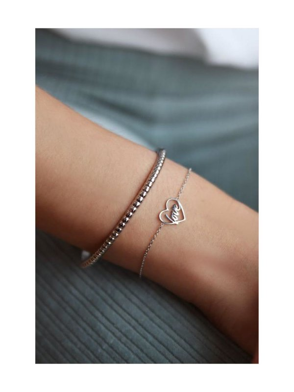 My Jewellery Moments Bracelet Love Zilver