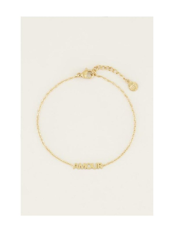 My Jewellery Moments Bracelet Amour Goud