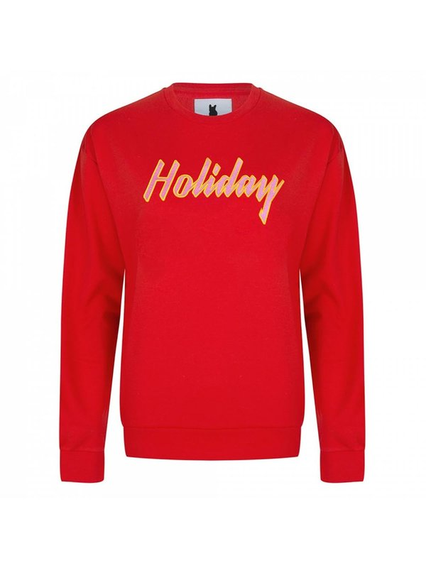 Blake Seven Holiday Red Sweater