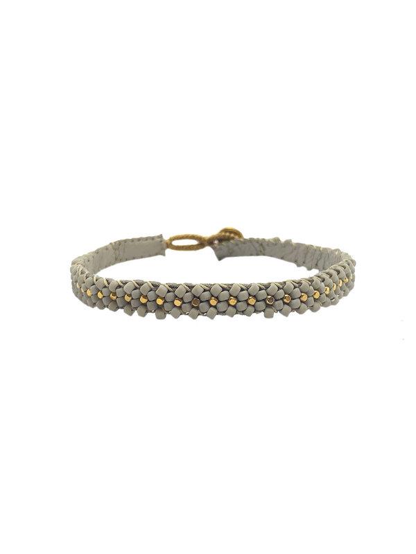 Ibu Jewels Bracelet Soft Grey