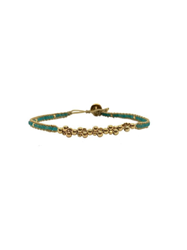 Ibu Jewels Bracelet Jill Bunch Aqua