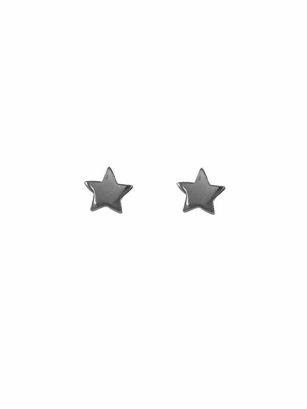 Blinckstar Earring Stud Star Silver