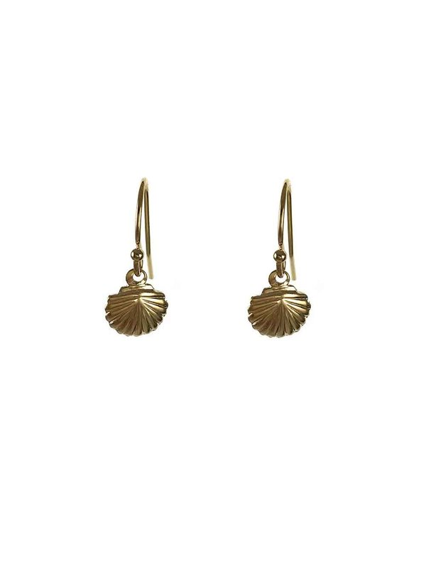 Blinckstar Earring Hoof Shel Small Gold