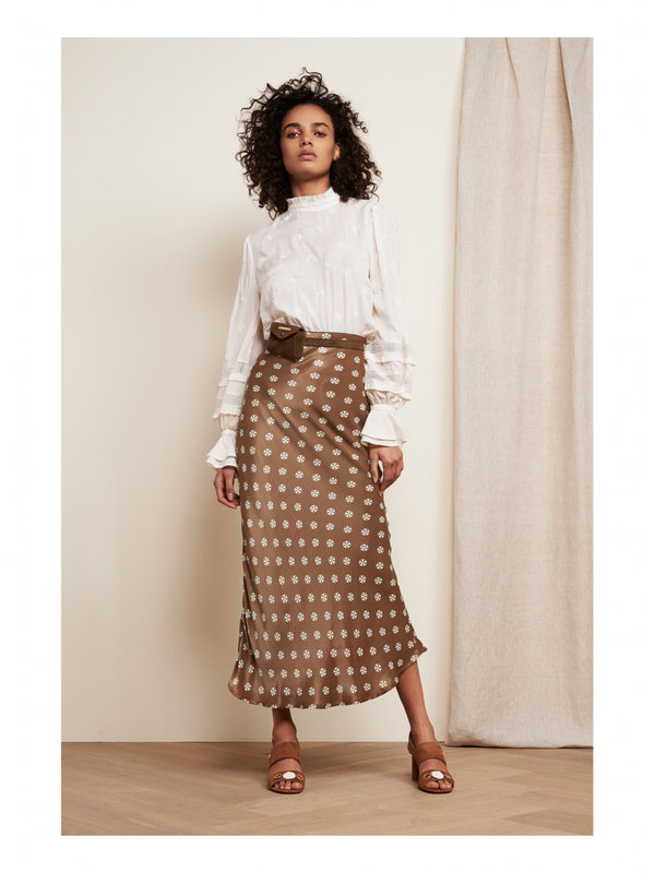 Fabienne Chapot Laurie Noa Skirt Toffee Brown