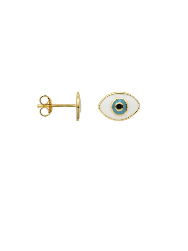 Anna + Nina Single Eye Stud