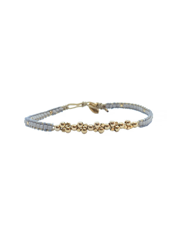 Ibu Jewels Bracelet Jill Bunch Soft Grey