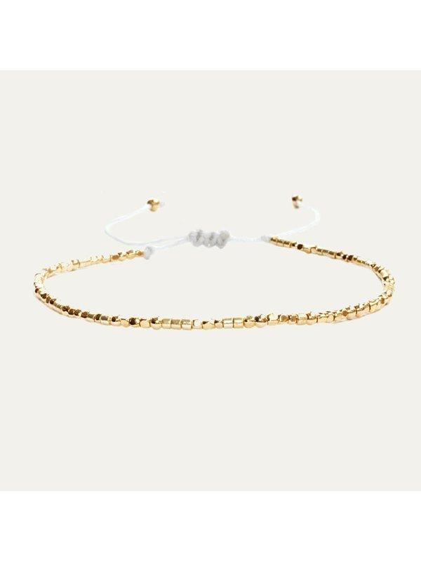 Lobibeads Dun Gouden Armbandje