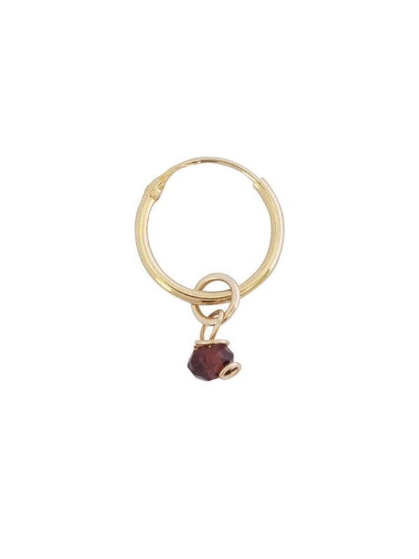 Bobby Rose Earring Garnet Classic