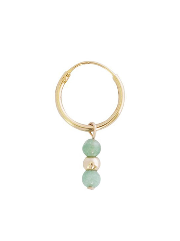 Earring Romantic Jade